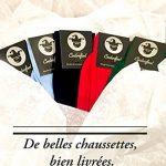 Coolorfool Chaussettes fil d'écosse 100% coton haut de gamme 25 couleurs éclatantes  à moitié prix stock limité   finesse et douceur  Homme Femme Ado  35 36 37 38 39 40 41 42 43 44 45 46 48 de la marque Coolorfool image 4 produit