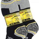 Cotton Prime Lot de 6 paires de chaussettes homme pour le travail et les loisirs - chaussettes de travail robustes de la marque Cotton+Prime image 3 produit