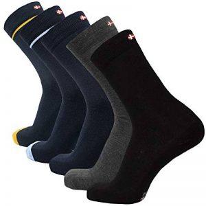 DANISH ENDURANCE Chaussettes de Laine Mérinos, respirantes, contrôle de l'humidité, monochromes et colorées, toute l'année, idée cadeau pour homme et femme, fabriquées dans l'UE de la marque DANISH-ENDURANCE image 0 produit
