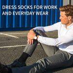 DANISH ENDURANCE Chaussettes de Laine Mérinos, respirantes, contrôle de l'humidité, monochromes et colorées, toute l'année, idée cadeau pour homme et femme, fabriquées dans l'UE de la marque DANISH-ENDURANCE image 2 produit