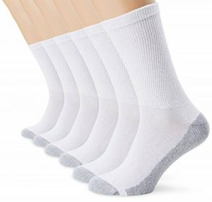 Dim Ecodim - Chaussettes de sport - Lot de 6 paires - Homme - Blanc - FR: 40-46 (Taille fabricant: 40-45) de la marque Dim image 0 produit