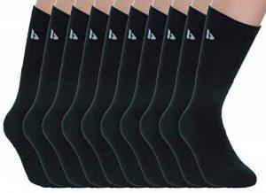 Donnay 10 Paires Chaussettes pour hommes en éponge de sport excellente qualité de coton Taille unique (40/45) de la marque Donnay image 0 produit