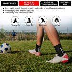 Emooqi Chaussettes de Sport Antidérapantes, Chaussettes Antidérapantes pour l'escalade Football Tennis Fonctionnement - Noir/Blanc - EU 38~49 de la marque Emooqi image 2 produit
