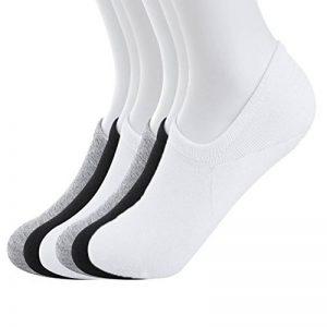 Estwell 6 Paires Chaussettes Basses Homme Invisible Antiglisse Socquettes Élastique Coton Courte Sneaker Chaussettes de la marque Estwell image 0 produit