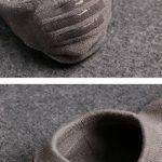Evedaily Lot de 8 Paires de Chaussettes Invisible - Socquettes Homme - Chaussettes Basses Homme En Coton avec Design Antidérapante Silicone Respirantes Confortable de la marque Evedaily image 2 produit