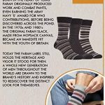 Farah - 5 Paires Homme Bambou Chaussettes avec Rayées et Pois Motif de la marque Farah image 4 produit
