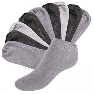 Footstar SNEAK IT! Socquettes Unisexes pour vous et lui - Tailles 35-50 - Assortiment de Couleurs Tendance - 10 paires de la marque Footstar image 0 produit