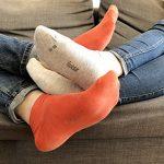 Footstar SNEAK IT! Socquettes Unisexes pour vous et lui - Tailles 35-50 - Assortiment de Couleurs Tendance - 10 paires de la marque Footstar image 3 produit