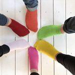 Footstar SNEAK IT! Socquettes Unisexes pour vous et lui - Tailles 35-50 - Assortiment de Couleurs Tendance - 10 paires de la marque Footstar image 4 produit