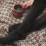 Fytto 4080| Chaussettes de Contention Coton Classe 2 – Compression Médicale Graduée 15-20mmHg – Chaussettes de Maintien 75% Coton Hauteur Genou, Homme/Femme, Noir XL – 1 Paire de la marque Fytto image 2 produit