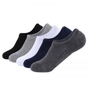 Gather Other Chaussettes Basses Invisibles Homme Socquettes de Sport Homme Couleur Mixte Lot de 5 Paires de la marque Gather+Other image 0 produit