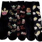 Générique The Simpsons - Chaussettes basses - Homme Noir Noir 43-46 de la marque Générique image 1 produit