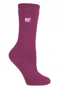 Heat Holders Lite - Femme chaudes polaire thermiques chaussettes fantaisie mince en 5 couleurs pour froid 37-42 Eur. de la marque HEAT-HOLDERS image 0 produit