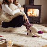 Heat Holders Lite - Femme chaudes polaire thermiques chaussettes fantaisie mince en 5 couleurs pour froid 37-42 Eur. de la marque HEAT-HOLDERS image 2 produit