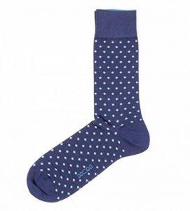 Hom - Chaussettes pour Homme Gustavo Bleu de la marque Hom image 0 produit