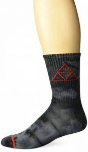 HUF Spot Dye TT Crew Socks de la marque HUF image 0 produit