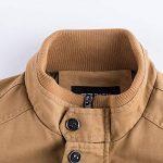 iHENGH Manteau Veste Homme Vêtements Manteau Militaire Tactical Outwear Manteau Respirant de la marque iHENGH image 2 produit