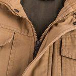 iHENGH Manteau Veste Homme Vêtements Manteau Militaire Tactical Outwear Manteau Respirant de la marque iHENGH image 4 produit