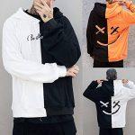 iHENGH Teen Unisexe Sourire Mode Visage Imprimer Veste Sweat à Capuche Pull-Over Tops Shirt de la marque iHENGH image 3 produit