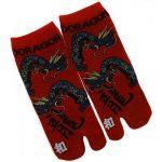 Japonmania - Chaussettes japonaises Tabi - Du 39 au 43 - Motif de dragons de la marque JAPONMANIA image 1 produit