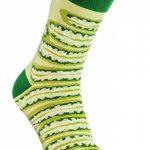 JAR SOCKS - 2 paires de Chaussettes de Pot en forme de Concombres, Originales Colorées, pour Hommes et Femmes, Fabriquées en UE, Haute Qualité de Coton d'OEKO-TEX. Cool Cadeau et Surprise! de la marque Rainbow-Socks image 1 produit