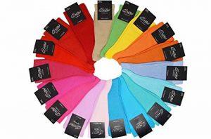 KARL LOVEN Lot DE 12 Paires de Chaussettes remaillé en Fil d'Ecosse 100% Coton - Taille - 39-42/43-46/47-49 de la marque KARL LOVEN image 0 produit