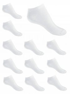 KARL LOVEN Lot de 12 Paires de Chaussettes remaillées Socquettes Homme Femme Enfant 95% Coton - Taille - 19 20 21 22 23 24 25 26 27 28 29 30 31 32 33 34 35 36 37 38 39 40 41 42 43 44 45 46 de la marque KARL LOVEN image 0 produit