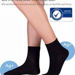 KNITIDO Dr. Foot Silver Protect® | Chaussettes à orteils basses avec effet antimicrobien certifié, pointure:35-38, couleur:blanc pur de la marque KNITIDO image 4 produit