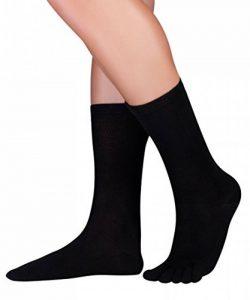 KNITIDO Dr. Foot Silver Protect® | Chaussettes à orteils mi-mollet avec effet antimicrobien de la marque KNITIDO image 0 produit