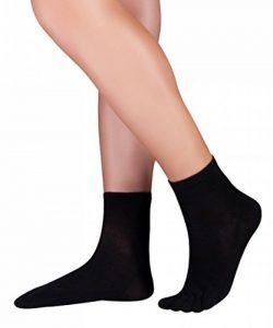 KNITIDO Dr. Foot Silver Protect® chaussettes à orteils sneaker - effet antimicrobien certifié de la marque KNITIDO image 0 produit
