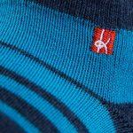 KNITIDO Track&Trail Spins Chaussettes à Doigts de Sport et de Cyclisme avec Orteils séparés en Coton et Coolmax, pour Hommes et Femmes de la marque KNITIDO image 1 produit