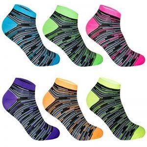 L&K-II Lot de 6/12 chaussettes basses socquettes femme multicolore hiver coton 92201VA de la marque L-K-II image 0 produit