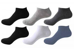 Likarulla Lot de 6 ou 10 paires Chaussette Hommes et Femmes chaussettes sport courtes Coton socquettes de la marque Likarulla image 0 produit