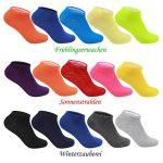 Lot de 10 chaussettes basses invisibles L&K-II Socquettes femme homme multicolore 2101 de la marque LK image 4 produit