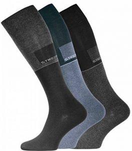 Lot de 3 paires de chaussettes hautes pour hommes, d'origine de VCA® de la marque VCA image 0 produit