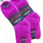 Lot de 4 paires de chaussettes ultra-douces - femme - couleurs unies ou rayures de la marque Vincent-Creation image 3 produit
