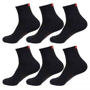 Lot de 6/12 chaussettes basses L&K-II socquettes femme homme multicolore coton 92201VA de la marque LK image 0 produit