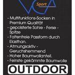 Lot de 6 paires de hightech chaussettes multi-fonctionnelles outdoor-chaussettes en plein air avec rembourrage spécial, trekking - randonnée chaussettes, UNISEX de la marque VCA image 4 produit