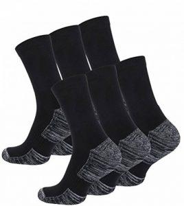 Lot de 6 paires de hightech chaussettes multi-fonctionnelles outdoor-chaussettes en plein air avec rembourrage spécial, trekking - randonnée chaussettes, UNISEX de la marque VCA image 0 produit
