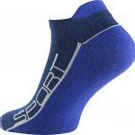 Lot de 8 paires de socquettes - coton et élasthanne - talon ajusté et inscription Sport - pointe remaillée main - bicolore de la marque VCA image 2 produit