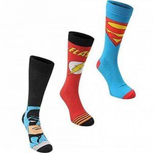 Lot de trois paires de chaussettes pour homme Marvel produites sous licence de la marque Marvel image 0 produit