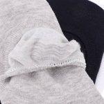 MagiDeal 5 Pairs Chaussettes Invisibles en Coton Chaussettes Low Cut Hommes Anti-Slip de la marque MagiDeal image 3 produit