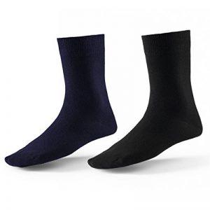Mat And Vic's Chausettes, Confortables, Respirantes, OEKO-TEX 100-35 36 37 38 39 40 41 42 43 44 45 46 (Lot de 10 paires) de la marque Mat-and-Vics image 0 produit