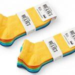 Mat And Vic's Socquettes, Confortables, Respirantes, OEKO-TEX 100-35 36 37 38 39 40 41 42 43 44 45 46 unisexe (Lot de 10 paires) de la marque Mat-and-Vics image 1 produit