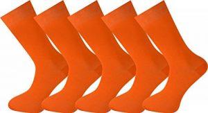 MySocks® Hommes et femmes 5 paires Couleur unie chaussettes coton peigné de la marque MySocks image 0 produit