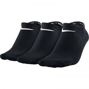 Nike Lightweight No-Show Paire de 3 chaussettes Homme Noir/Blanc - 42-46 de la marque Nike image 0 produit