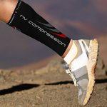 NV Compression 365 Manchons de compression pour les mollets - Noir - Compression Sports Calf Sleeves - Black - For Running, Cycling, Triathlon, Crossfit, Gym de la marque NV-Compression image 1 produit