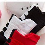 OK Sakady(3 paires)Unisexe Coton Humidité Mèche Mid Tube Basketball sport Chaussettes Pour Hommes et femmes Adapté Pour toutes les saisons de la marque OKSakady image 4 produit