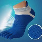 Panegy – Lot de 6 paires de Chaussettes à Motif Pour Homme – Doigts de Pied Séparés – Chaussettes avec Orteils – Coton – couleur disponible de la marque Panegy image 4 produit