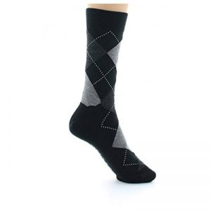PERRIN chaussettes écossaises laine peignée 440 noire de la marque PERRIN image 0 produit